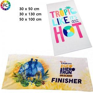 fullcolor bedrukte handdoeken promotiehanddoeken
