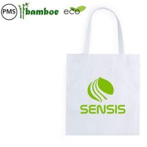 bamboe tassen bedrukken bedrukte bamboetas