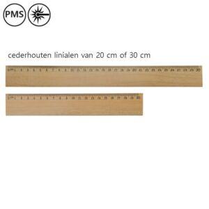 houten linialen bedrukken bedrukte houten linialen ceder