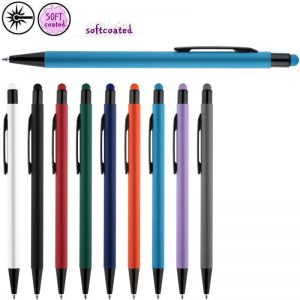 duran softcoated rubberized stylus pennen