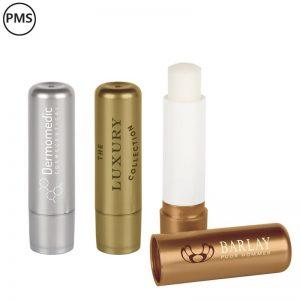 goudkleurige lippenbalsems zilverkleurige lippenbalsems bedrukken metallica