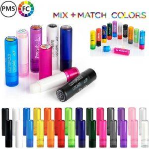 lippenbalsems bedrukken kleurcombinatie logotop fullcolor