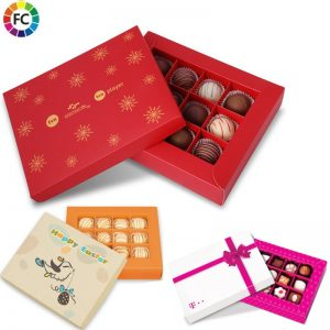 geschenkdoos handwerk bonbons 12 stuks