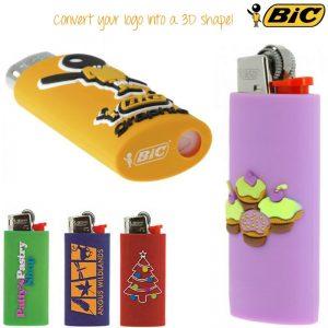 bic 3D lighter case laten maken