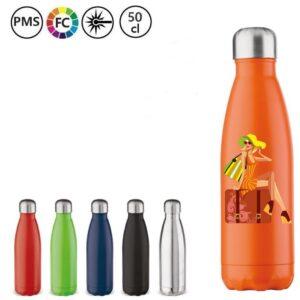 drinkflessen bedrukken rvs flessen met logo