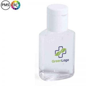 flesjes handengel met logo bedrukte zeepflesjes