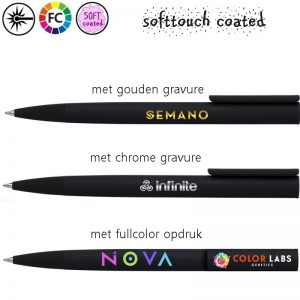 luxe metalen pennen graveren jigger