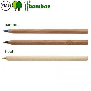 bamboe pennen bedrukken houten pennen bedrukken sticks
