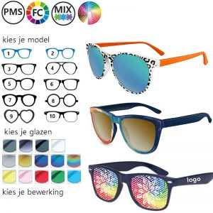 custom made zonnebrillen ontwerp je eigen zonnebril
