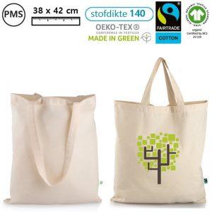 fairtrade schoudertassen met eigen logo bedrukken eco tassen manica