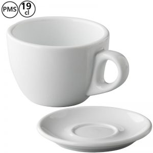 yves cappuccino kop en schotels bedrukken