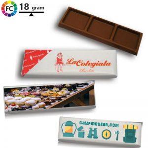 bedrukte promotiechocolaatjes met eigen logo triple