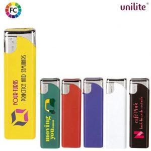 reclame aanstekers bedrukken fullcolor unilite sliders