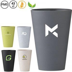stro bekers bedrukken wheat mugs met eigen logo