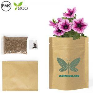 bedrukte planten zakjes bedrukken zaadzakjes plantenzakjes met logo