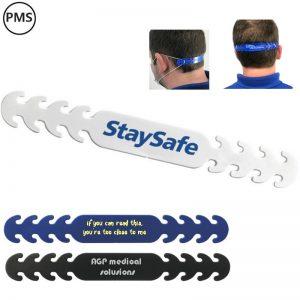 bedrukte face mask straps mondmaskerbandjes bedrukken met logo