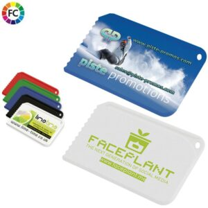 bedrukte creditcard ijskrabbers bedrukken