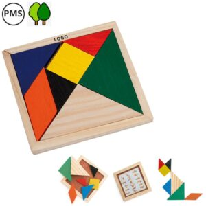 bedrukte tangram spelletjes bedrukken met logo promotiespellejejs
