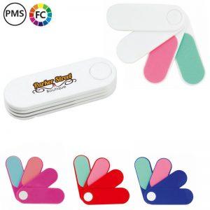 cuso nagelvijltjes bedrukken bedrukte nagelvijltjes in een waaier met logo