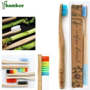 custom tandenborstels laten maken van bamboe tandenborstels bedrukken