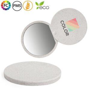 dionne duurzame spiegels bedrukken met logo stro draaispiegeltjes