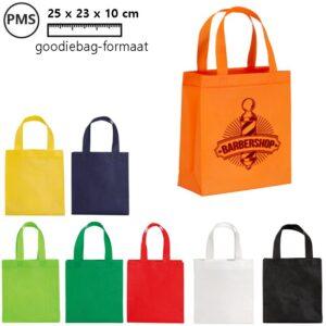 giova goodbags met logo promotiegoodiebags bedrukken eigen logo