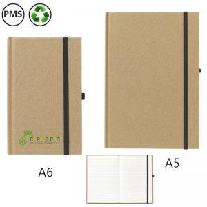 pocketnote eco gerecyclede notitieboekjes bedrukken met logo