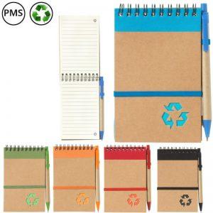 recycle note notitieboekjes van gerecycled papier bedrukken spiraalblokjes