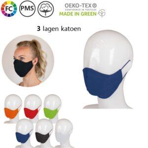 bedrukte gezichtsmasker van katoen bestellen mica
