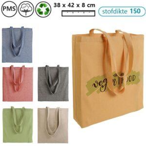 recycle schoudertassen bedrukken met logo medea extra