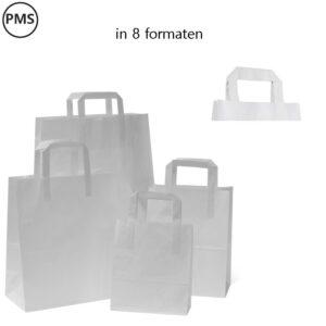 witte papieren tassen bedrukken blanca