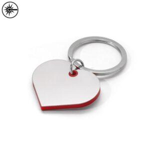 aluminium hart sleutelhangers graveren met logo embras