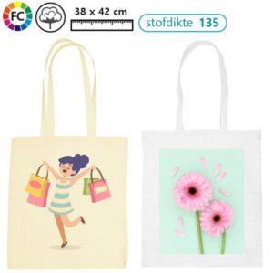 klein aantal katoenen tassen fullcolor bedrukken met logo Aryza