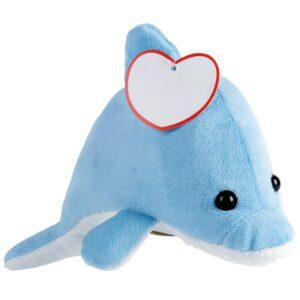 bedrukte pluche dolfijn knuffeldieren bedrukken