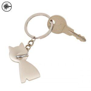 katten sleutelhangers bedrukken