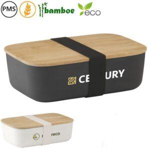 midori eco wheatstraw lunchbox bedrukken bedrukte broodtrommels