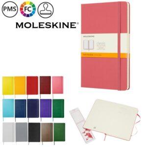moleskine classic large hardcover notitieboekjes bedrukken bedrukte moleskine