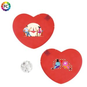 pepermuntjes hart minthart bedrukken met logo