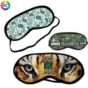 oogmaskers bedrukken bedrukte slaapmaskers