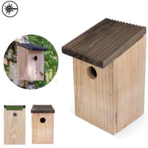 vogelhuisjes met logo brownbird